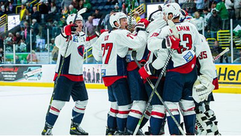 The Stingrays advanced to the Eastern Conference Finals with a 3-2 win over Florida in Game 5...