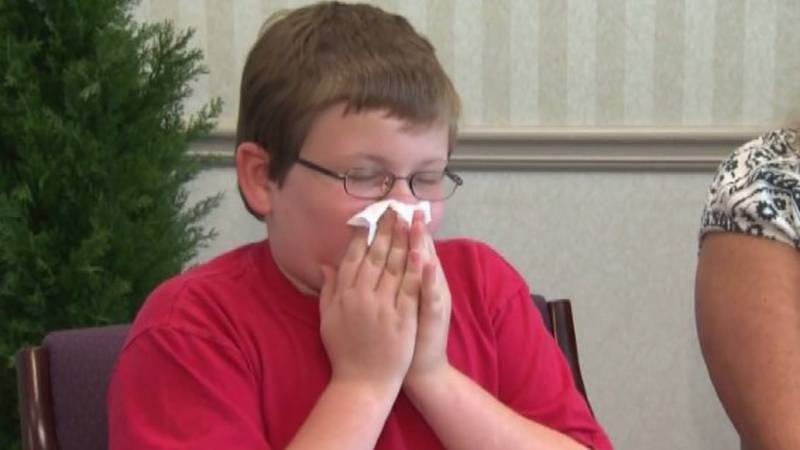Dr. Carolyn Word with Charleston Allergy and Asthma says when you mix pollen season with the...