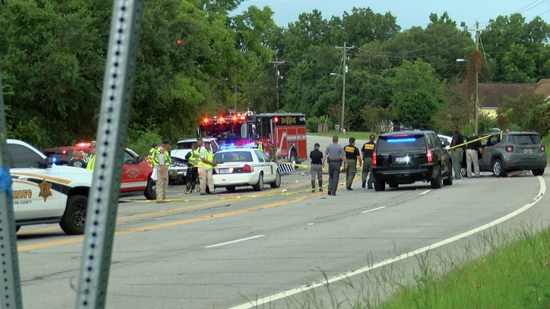 Authorities responded to the crash on Folly Road near James Prioleau Road at approximately...