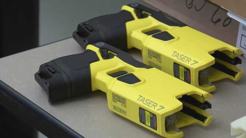 """Alpert says the use of """"Conductive Electronic Weapons"""" or CEWs – Tasers are a brand of those –..."""
