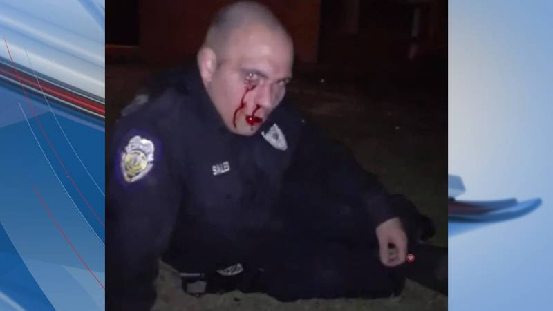 A Rowland police officer was assaulted over the weekend, according to the sheriff.