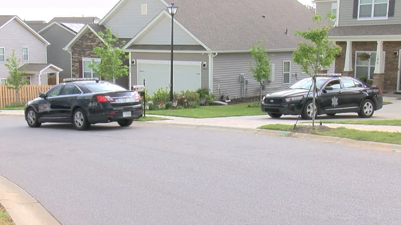 The Barony Place Drive neighborhood remained mostly quiet Thursday after a Wednesday night...