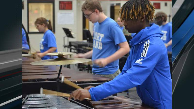 Fort Dorchester High School's band director is hoping to purchase percussion instruments for...