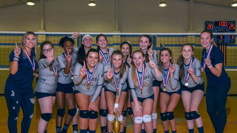 The Cathedral Academy girls volleyball team captured the SCISA 1A state championship Saturday....