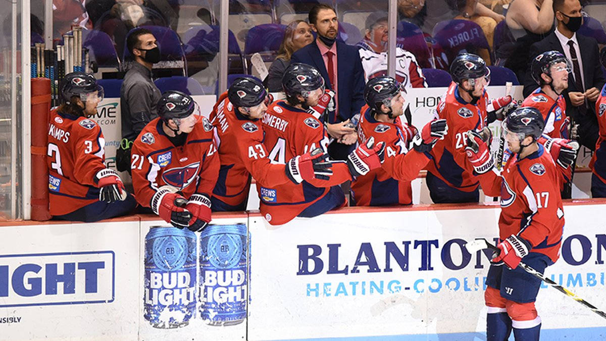 The South Carolina Stingrays (31-24-10-3) piled up 50 shots on their way to a 6-2 victory over...