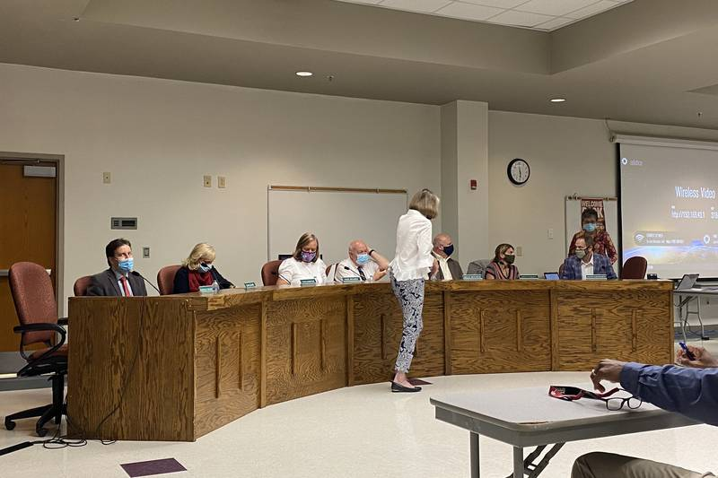 Two topics are on the agenda for Monday's Dorchester District Two meeting, masks and the...