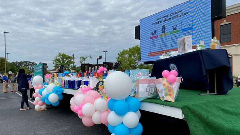 """With the title, """"A Baby Changes Everything,"""" the event includes a baby shower where mothers..."""