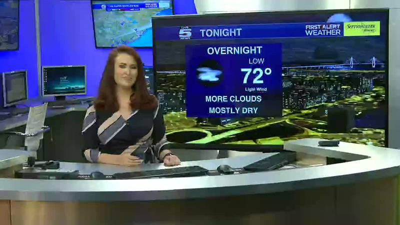 VIDEO: Your Sunday night forecast