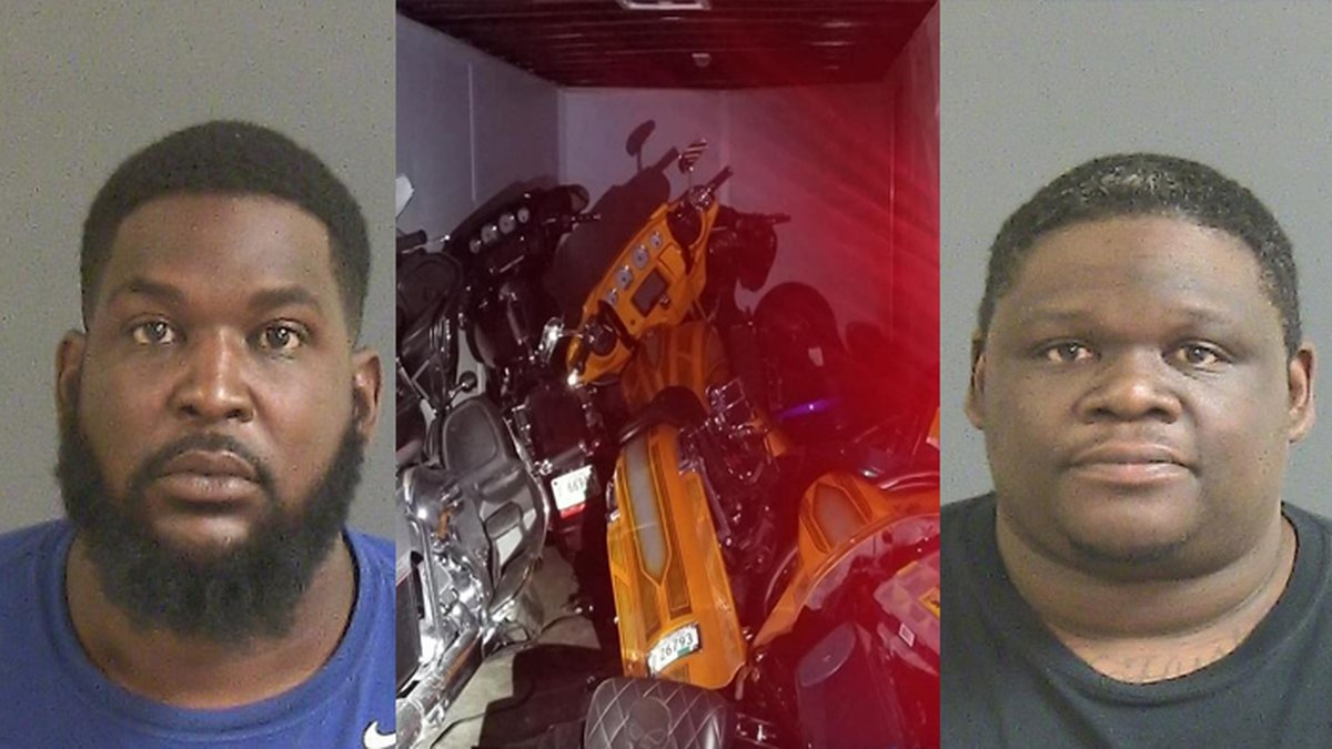 Anthony Lee and Tyre Rouse have been charged with possession of stolen motor vehicles (Source:...