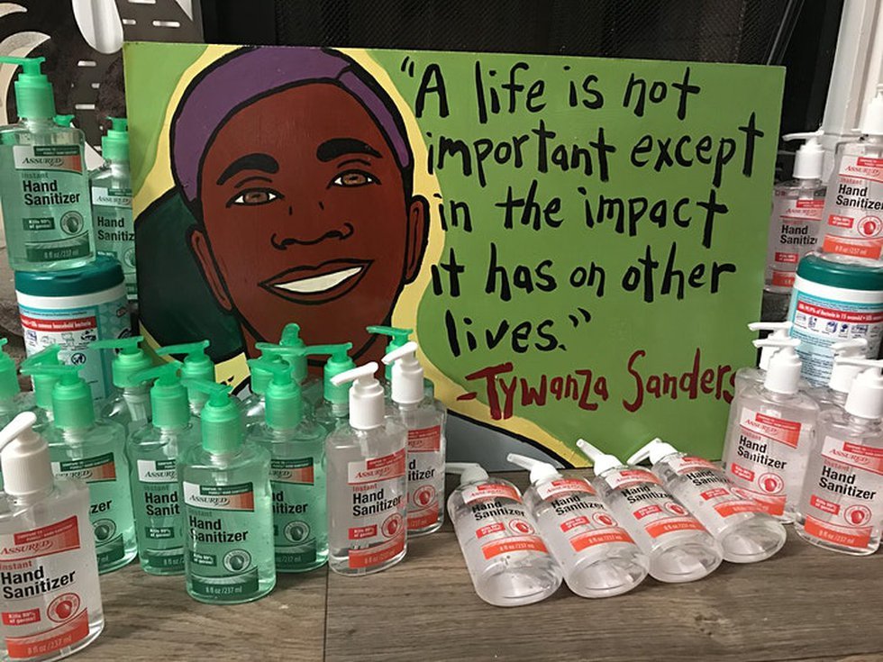 Organizers say all funds raised will be donated to the Tywanza Sanders Scholarship Fund, which...