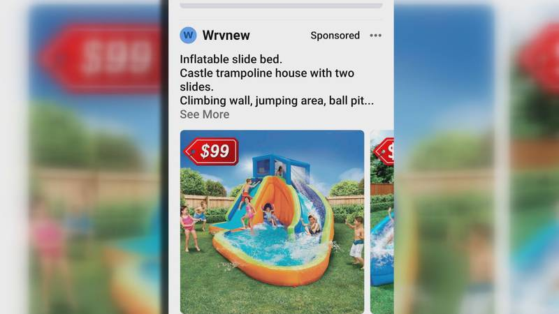 Parents looking for ways to keep kids entertained at home are buying water slides and swing...