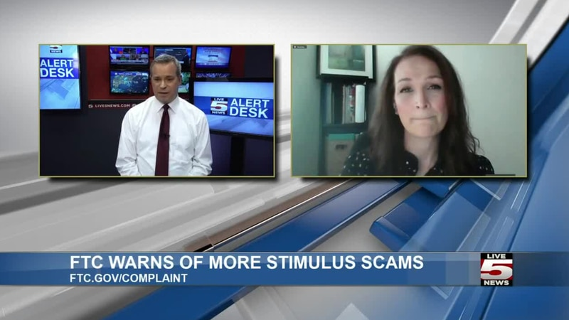"""""""The scammers do follow the headlines and they do follow the money,"""" Karen Hobbs with the FTC..."""