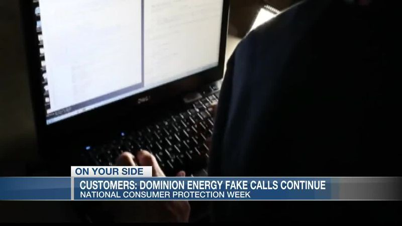 VIDEO: Customers report continuing scams involving fake calls from Dominion Energy