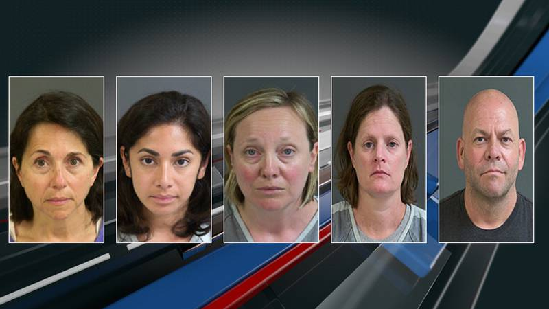 (left to right) The Charleston County Sheriff's Office arrested 51-year-old Lisa Guido,...