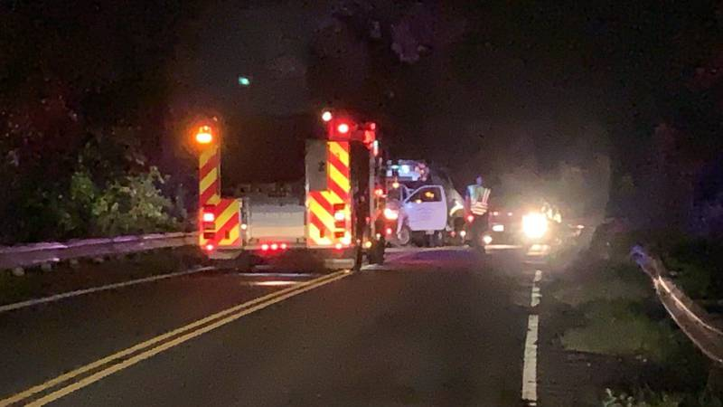 The crash was reported on Ashley River Road between Bees Ferry Road and Glendale Drive.
