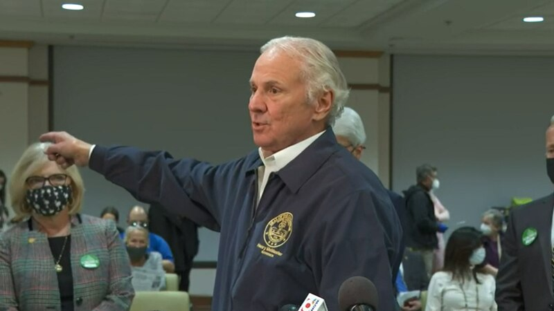 South Carolina Gov. Henry McMaster discussed the state's COVID-19 vaccine rollout during a stop...