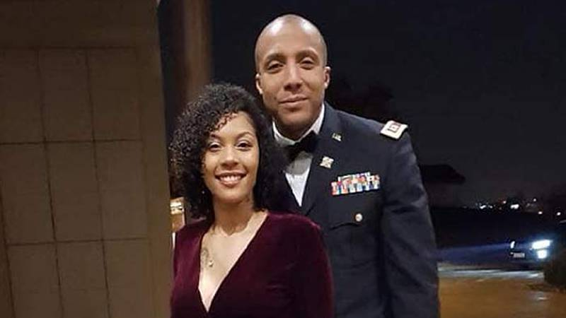 US Army Capt. Antoine Lewis, right, of Chicago, is believed to have died in the crash. (Source:...