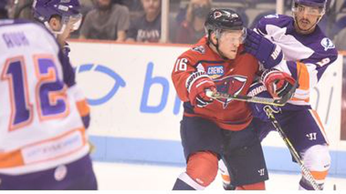 The Stingrays couldn't hold on to an early 3-1 lead as they fell to Orlando, 6-3