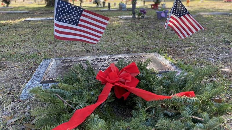 Saturday is National Wreaths Across America Day, and the James Island Exchange Club hosted this...