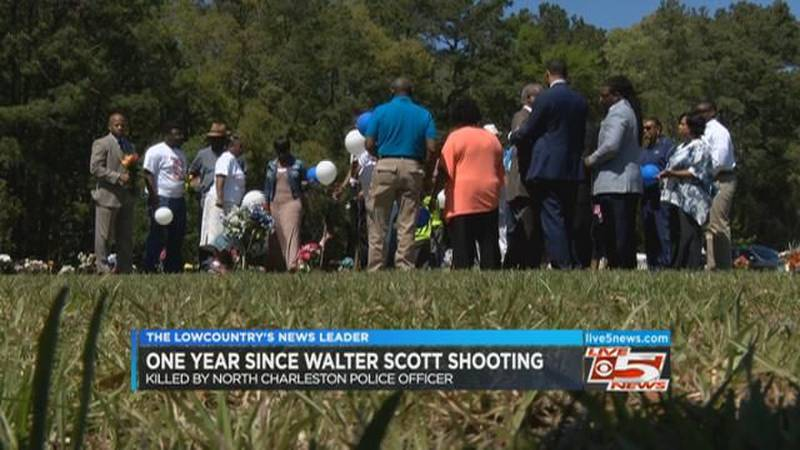 Activists have warning for police on anniversary of Walter Scott shooting