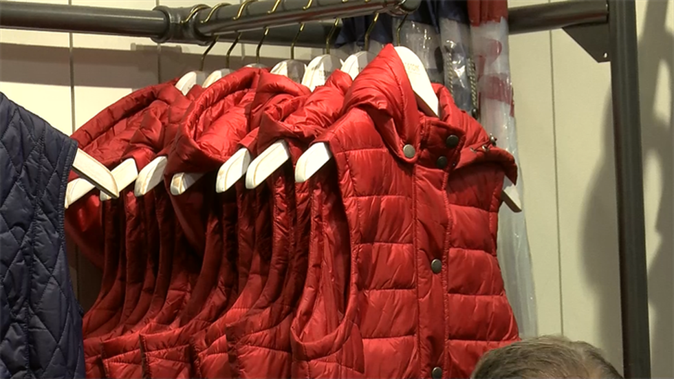 President of M. Dumas & Sons say their Barbour jackets are a hot commodity at SEWE (Source:...