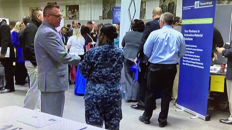 Veterans and their families can take part in a virtual hiring event Feb. 23.