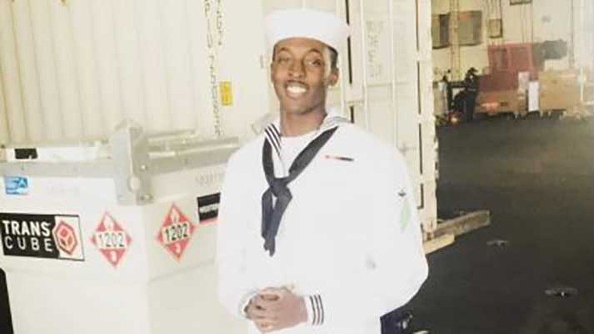Corneilius Brown, 22, was on active duty and stationed at Naval Base Coronado when he was shot...