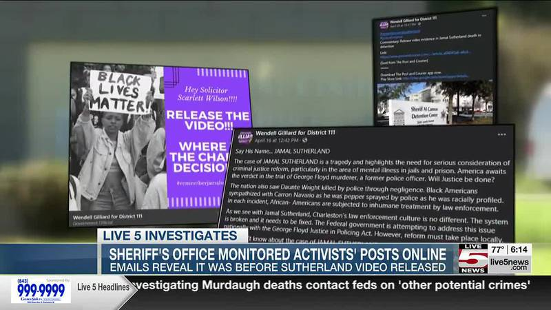 VIDEO: Sheriff's office monitored Jamal Sutherland activists' social media posts, emails show