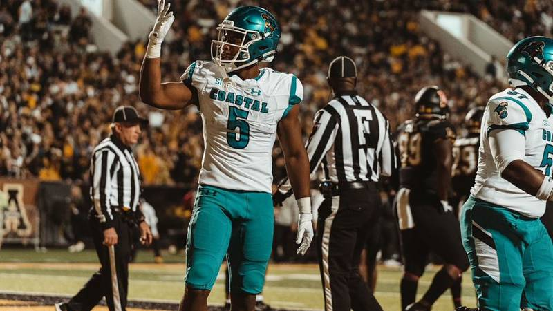 Coastal Carolina suffered their first loss of the season losing at Appalachian State on Wednesday