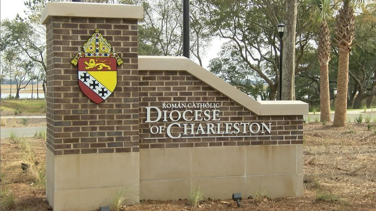 The Catholic Diocese of Charleston issued a statement Wednesday after a priest who served in...