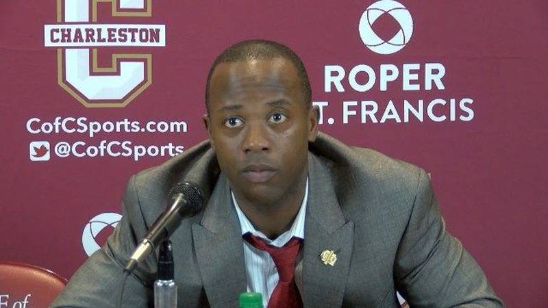 RAW: CofC's Earl Grant after loss to Elon