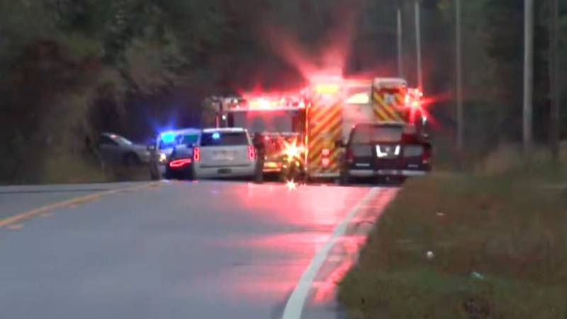 Officials with Colleton County Fire and Rescue say two people were aboard a single engine plane...