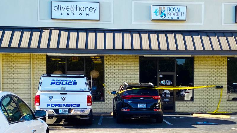 Authorities say the shooting happened on Trolley Road (pictured above), and the victim was...