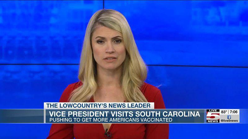 VIDEO: Vice President Kamala Harris visits South Carolina