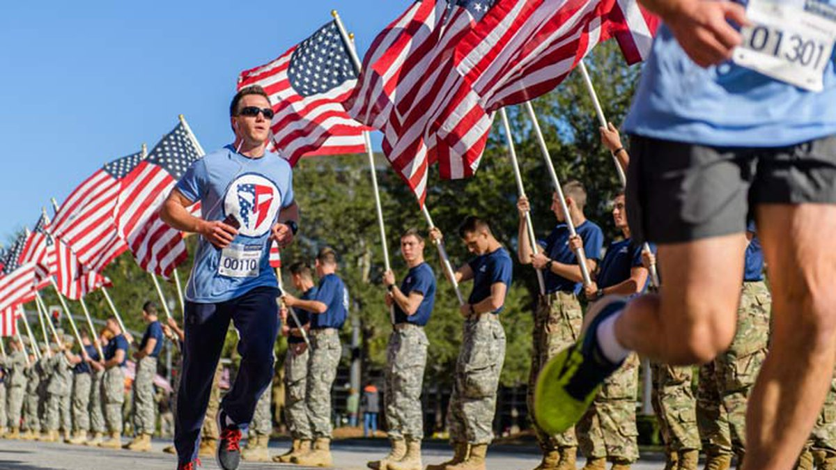 The Charleston 9/11 Heroes Run 5K race will mark the 20 years since the Sept. 11, 2001, attacks...