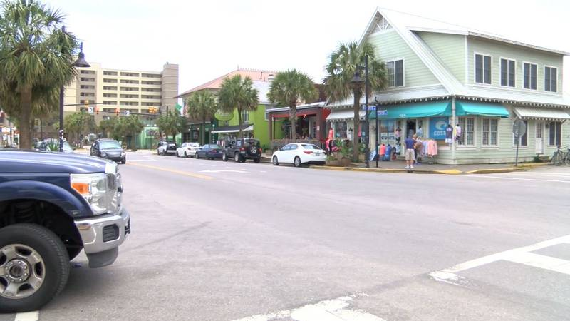Folly Beach City Council is considering charging parking fees for drivers along Center Street....