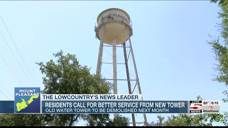 VIDEO: Residents call for better service from new cell tower