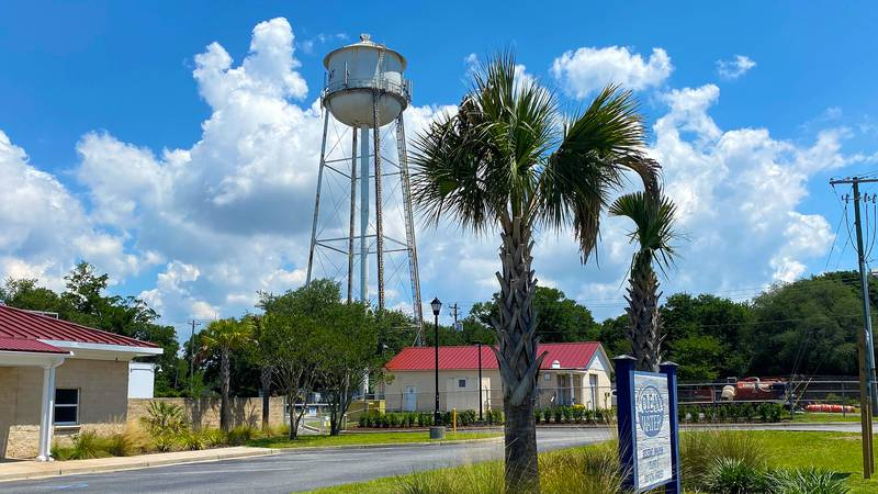 The water tower in the Old Village community of Mount Pleasant is planned to come down in the...