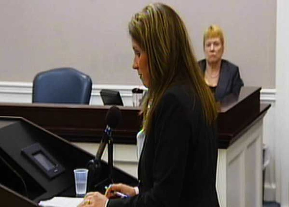 Solicitor Scarlett Wilson (pictured above) said at the hearing that the solicitor's office...