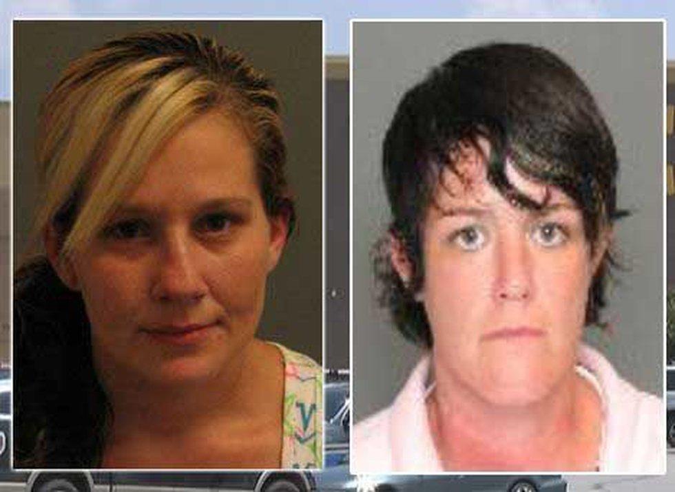 Ashley Murdaugh and Jennifer Janney (Source: CCSO)