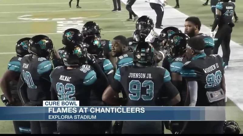 VIDEO: Coastal Carolina drops heartbreaker in overtime to Liberty in Cure Bowl