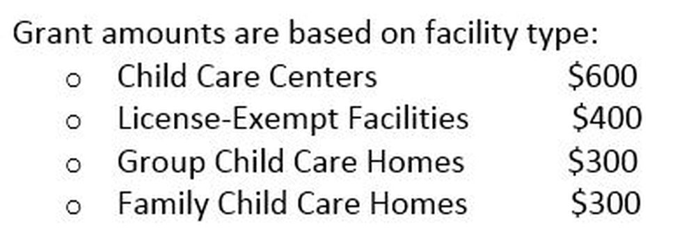 SC DSS is taking applications from child care centers to use grants for cleaning their centers...
