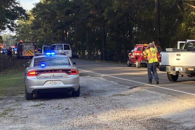 Highway Patrol officials said two people died and one person was hospitalized following an...