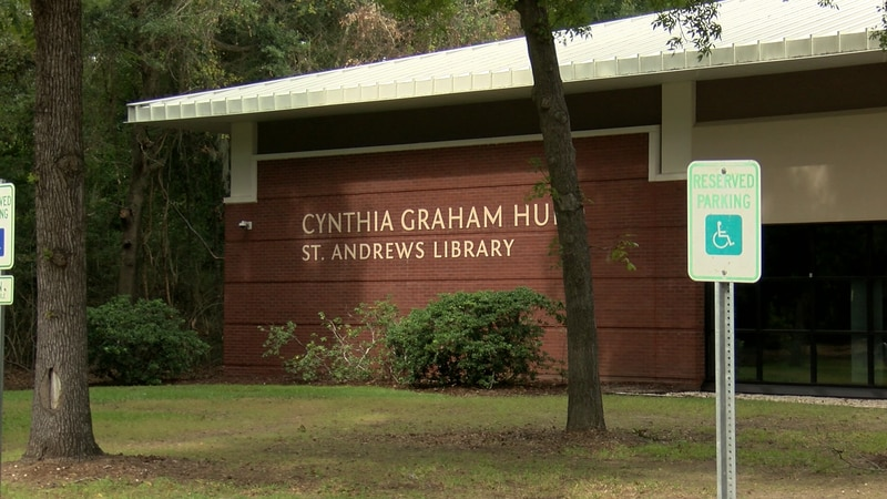 The newly renovated Cynthia Graham Hurd Library might look the same on the outside, but...