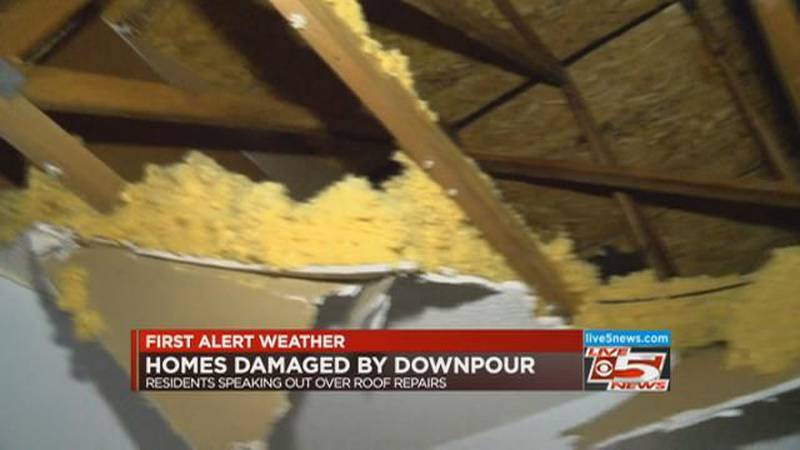 VIDEO: Residents demand answers after ceiling collapse at N. Charleston town homes
