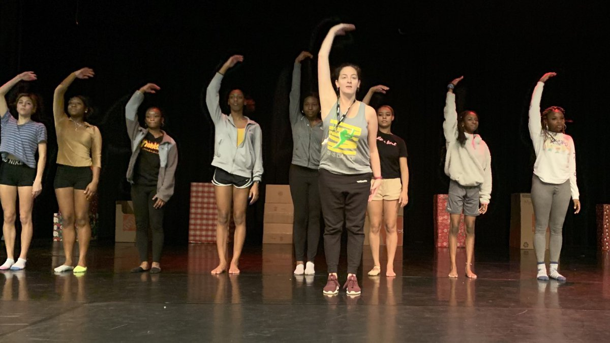 Laura Kogan's dance students at Summerville High need costumes for their performances.