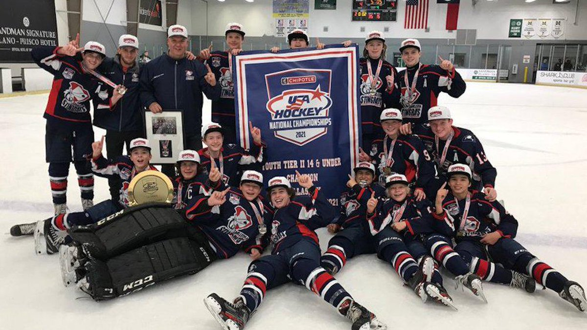 The Charleston Junior Stingrays 14 and under team won the national championship with a victory...