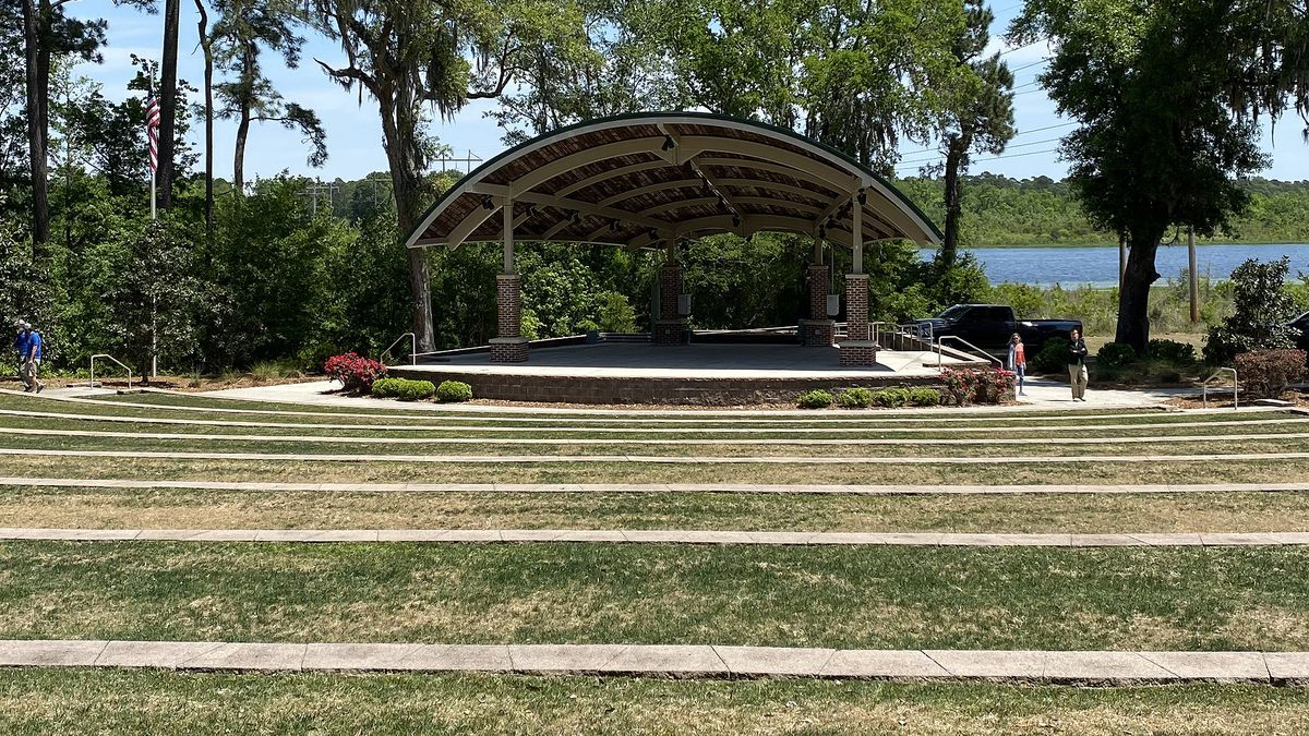 The Hanahan Amphitheater is welcoming its first concert in over a year this weekend. City...