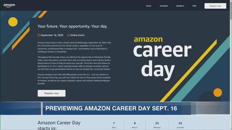 Amazon Career Day September 16, 2020
