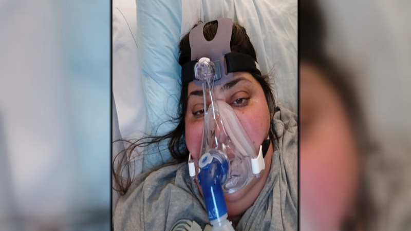 Brittney Tarr, who has not been vaccinated, has been in the hospital for two weeks, and her...